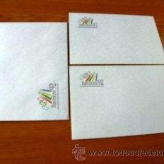 Coleccionismo deportivo: SOBRE Y PAPEL DE BARCELONA 92 ***NUEVO***. Lote 34285227