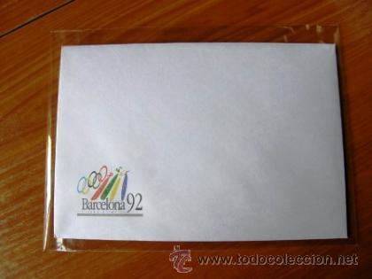 Coleccionismo deportivo: Sobre y papel de Barcelona 92 ***NUEVO*** - Foto 3 - 34285227