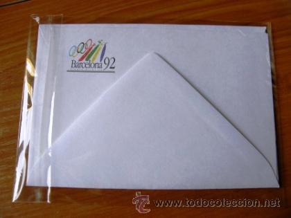 Coleccionismo deportivo: Sobre y papel de Barcelona 92 ***NUEVO*** - Foto 4 - 34285227