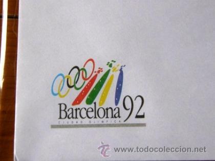 Coleccionismo deportivo: Sobre y papel de Barcelona 92 ***NUEVO*** - Foto 5 - 34285227