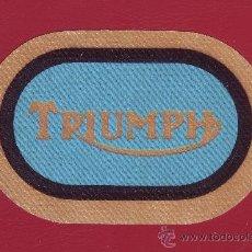 Coleccionismo deportivo: PARCHE TRIUMPH. Lote 35879713