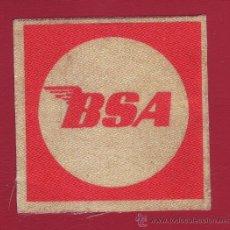 Coleccionismo deportivo: PARCHE BSA. Lote 35879838