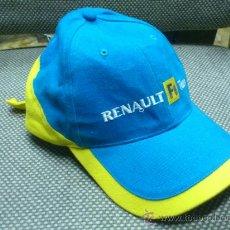 Coleccionismo deportivo: GORRA DE FORMULA UNO. RENAULT F1 TEAM. ELF LUBRICANTES.. Lote 36544590