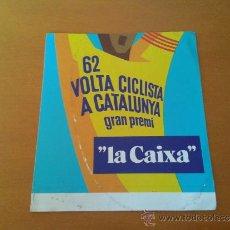 Coleccionismo deportivo: ADHESIVO 62ª EDICIÓN VOLTA CICLISTA A CATALUNYA VUELTA CATALUÑA CICLISMO EDICIÓN 1982. Lote 36699081