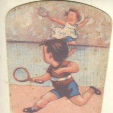 Coleccionismo deportivo: PAI PAI PUBLICIDAD JUGUETES DANES - PLAZA SAN PEDRO 11 DE BARCELONA- TEMA TENIS. Lote 36987147