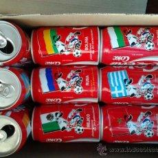 Coleccionismo deportivo: LOTE COCA-COLA COMPLETO MUNDIAL 94.. Lote 37027510