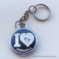 Coleccionismo deportivo: LLAVERO DE FUTBOL - CENTRO DE DEPORTES SABADELL. Lote 37409130