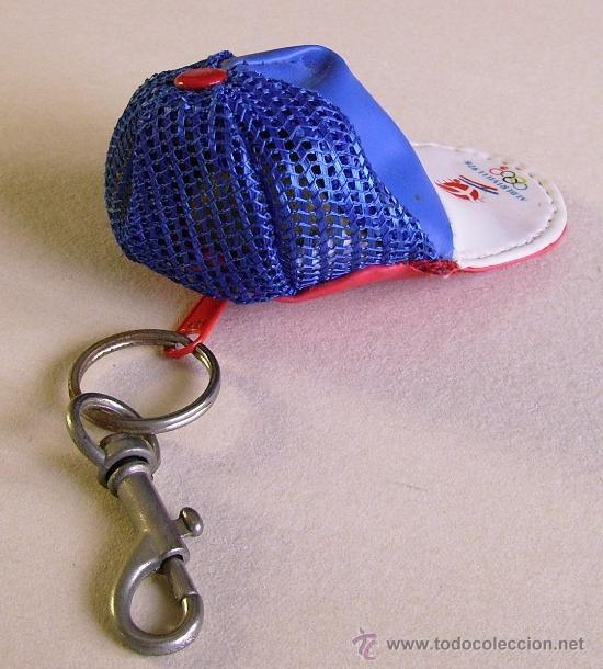Coleccionismo deportivo: Albertville 92 Llavero-gorra de los juegos olímpicos de invierno de 1992 - Foto 4 - 38574095