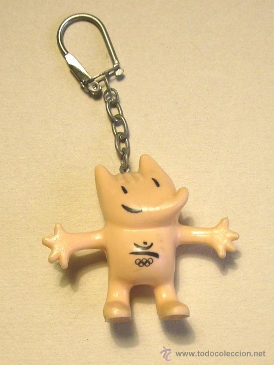 Llavero De Cobi Mascota De Los Juegos Olimpico Comprar