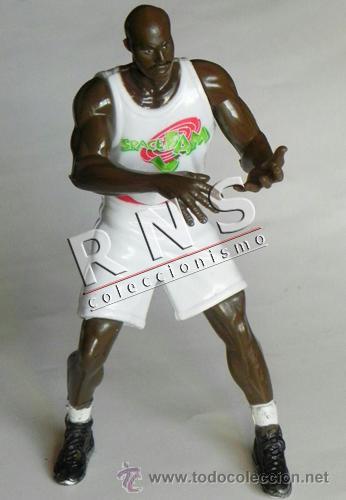 FIGURA DE SHAQUILLE O'NEAL BALONCESTO JUGADOR NBA DEPORTE MUÑECO JUGUETE CINE SPACEJAM WARNER ÍDOLO (Coleccionismo Deportivo - Merchandising y Mascotas - Otros deportes)