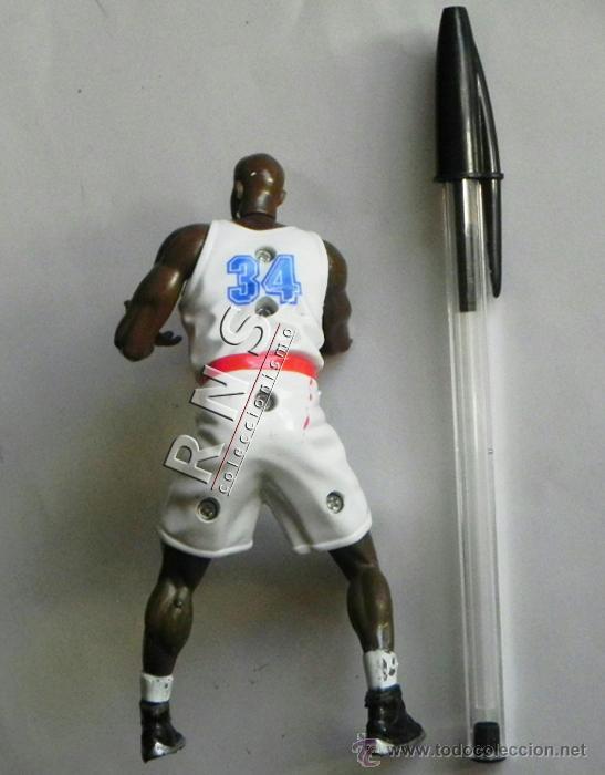 Coleccionismo deportivo: FIGURA de Shaquille ONeal BALONCESTO JUGADOR NBA DEPORTE MUÑECO JUGUETE CINE SPACEJAM WARNER ÍDOLO - Foto 2 - 39138861