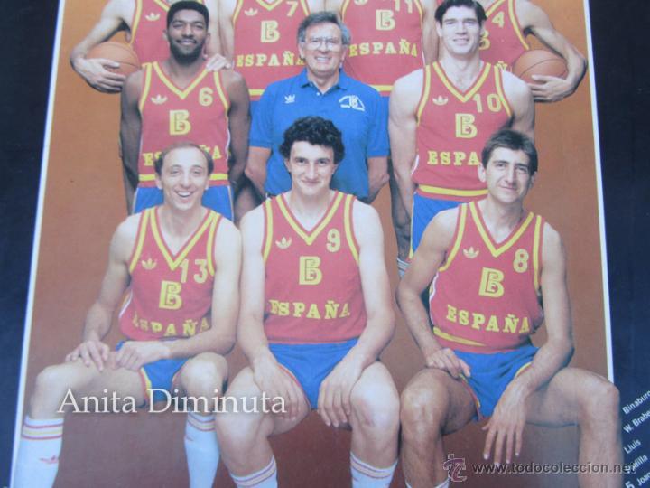 Coleccionismo deportivo: ANTIGUA Y GENIAL PEGATINA DEL MUNDO BASKET DE 1986 - SELECCION NACIONAL BALONCESTO - BANCO EXTERIOR - Foto 3 - 40570773