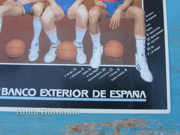 Coleccionismo deportivo: ANTIGUA Y GENIAL PEGATINA DEL MUNDO BASKET DE 1986 - SELECCION NACIONAL BALONCESTO - BANCO EXTERIOR - Foto 4 - 40570773