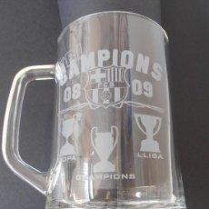 Coleccionismo deportivo: ANTIGUA JARRA DEL F.C.BARCELONA TRICAMPIONS DEL 2.008 - 09. Lote 40947298
