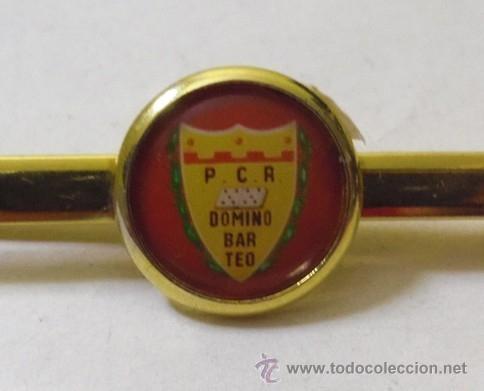 AGUJA DE CORBATA - P.C.R. DOMINO BAR TEO (Coleccionismo Deportivo - Merchandising y Mascotas - Otros deportes)