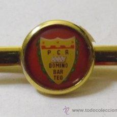 Coleccionismo deportivo: AGUJA DE CORBATA - P.C.R. DOMINO BAR TEO. Lote 41285643
