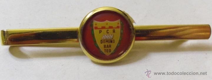 Coleccionismo deportivo: aguja de corbata - P.C.R. DOMINO BAR TEO - Foto 2 - 41285643