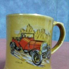 Coleccionismo deportivo: JARRA PORCELANA VETERANS CARS SERIES 5 (Nº13) 1908 ITALA WADE. Lote 42347523