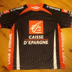 Coleccionismo deportivo: CAMISETA SEGUIDOR EQUIPO CICLISMO PRO TOUR CAISSE D'EPARGNE.. Lote 43093800