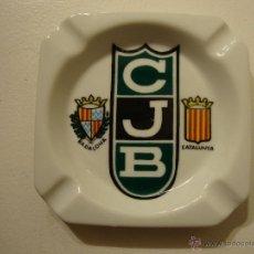 Coleccionismo deportivo: CENICERO CLUB JUVENTUD BADALONA BALONCESTO BASKET. Lote 43417933