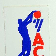 Coleccionismo deportivo: PEGATINA ANTIGUA BALONCESTO BASKETBALL LOGOTIPO LOGO ACB. LIGA BALONCESTO ESPAÑOL.. Lote 43743542