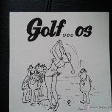 Coleccionismo deportivo: GOLF ... OS GOLFOS JOAQUÍN COSTA HUMOR SOBRE GOLF LIBRO CHISTES GRÁFICOS 80 PG. Lote 45102583
