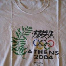 Coleccionismo deportivo: CAMISETA ATHENS 2004 OLYMPIA GREECE - JUEGOS OLÍMPICOS ATENAS 2004 (GRECIA) - TALLA XL - USADA. Lote 45181657