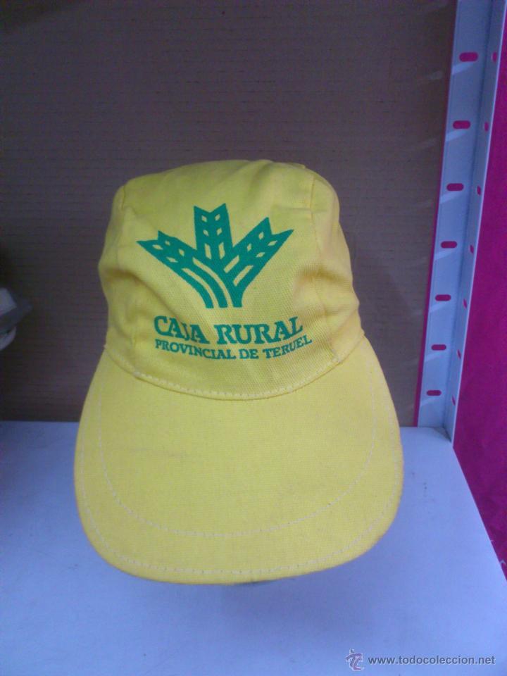 Gorra original vintage caja rural provincial de comprar for Caja rural de teruel oficinas