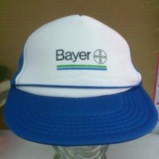 Coleccionismo deportivo: GORRA ORIGINAL VINTAGE . BAYER - BAYERN.. CICLISMO, CICLISTA..ALFJ.. Lote 45512104