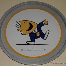 Coleccionismo deportivo: GRAN BANDEJA DE METAL. JUEGOS OLÍMPICOS BARCELONA 92 1992. COBI. 28,5 CM. Lote 46778574