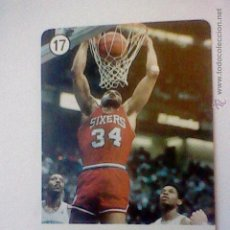 Coleccionismo deportivo: CARTA DE BARAJA NBA FOURNIER BARKLEY 76ERS Nº 17 . Lote 46975387