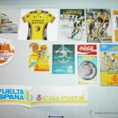 Coleccionismo deportivo: LOTE DE PEGATINAS CICLISMO. Lote 69658702