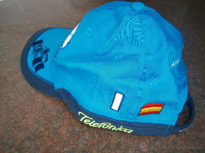 GORRA OFICIAL 2006 RENAULT F1. (Coleccionismo Deportivo - Merchandising y Mascotas - Otros deportes)
