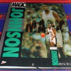 Coleccionismo deportivo: CARPETA ARCHIVADOR CARTÓN DURO MAGIC JOHNSON SELECCIÓN USA ESTADOS UNIDOS. 7UP. RARA Y PRECIOSA.. Lote 47361765