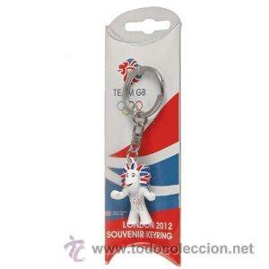 LLAVERO NUEVO LONDRES 2012 PRIDE EL LEON - OFICIAL JUEGOS OLÍMPICOS MASCOTA LONDON (Coleccionismo Deportivo - Merchandising y Mascotas - Otros deportes)