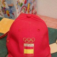 Coleccionismo deportivo: GORRA DE ESPAÑA - LI NING. Lote 47666790