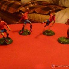 Coleccionismo deportivo: FIGURA PVC FUTBOL LA ROJA PUYOL TORRES VILLA MURIENTES FTCHAMPS. Lote 48269164