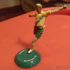 Coleccionismo deportivo: FIGURA PVC FUTBOL BECKHAM GALAXY FTCHAMPS . Lote 48269296