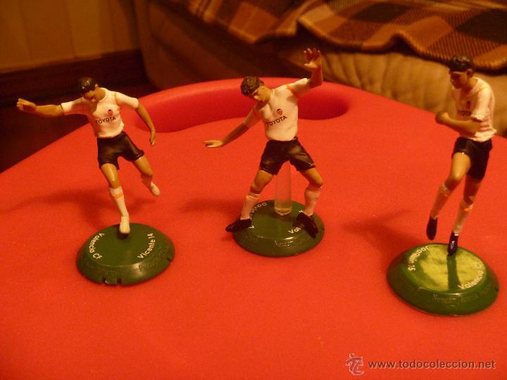 FIGURA PVC FUTBOL VICENTE VILLA JOAQUIN VALENCIA FTCHAMPS (Coleccionismo Deportivo - Merchandising y Mascotas - Otros deportes)