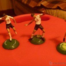 Coleccionismo deportivo: FIGURA PVC FUTBOL VICENTE VILLA JOAQUIN VALENCIA FTCHAMPS. Lote 48269487