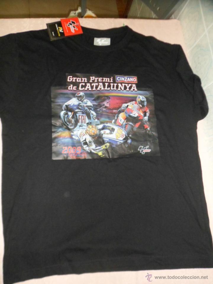 CAMISETA GRAN PREMIO CATALUNYA MOTO GP 2009 (Coleccionismo Deportivo - Merchandising y Mascotas - Otros deportes)