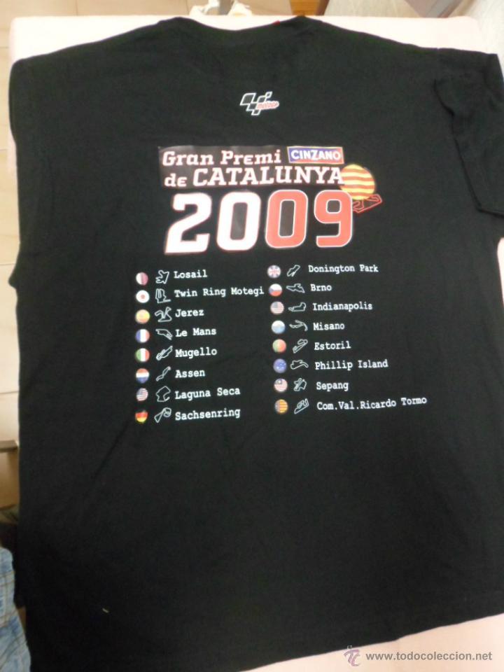 Coleccionismo deportivo: CAMISETA GRAN PREMIO CATALUNYA MOTO GP 2009 - Foto 3 - 48752730