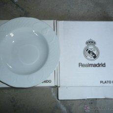 Coleccionismo deportivo: PLATO HONDO REAL MADRID A ESTRENAR. Lote 66167145