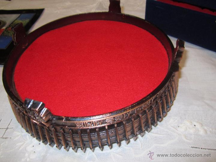 Coleccionismo deportivo: Rebajado Cenicero de bronce de las Olimpiadas Seul 1988. Gran pieza. Con su estuche. - Foto 9 - 50146669