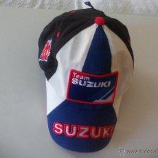 Coleccionismo deportivo: GORRA DE SUZUKI TEAM. MOTO GP. FACTORYRACING.NET. MOTOCICLISMO. R GSX. Lote 50749192