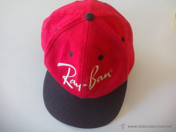 GORRA RAY BAN. WORLDWIDE SPONSOR OF THE OLYMPIC GAMES. (Coleccionismo Deportivo - Merchandising y Mascotas - Otros deportes)