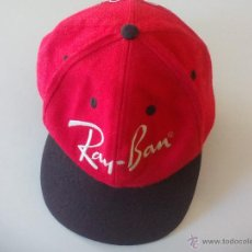 Coleccionismo deportivo: GORRA RAY BAN. WORLDWIDE SPONSOR OF THE OLYMPIC GAMES.. Lote 50749225