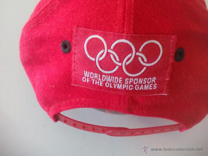 Coleccionismo deportivo: Gorra Ray Ban. Worldwide sponsor of the olympic games. - Foto 2 - 50749225