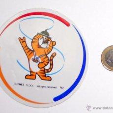 Coleccionismo deportivo: PEGATINA ADHESIVO STICKER HODORI MASCOTA JUEGOS OLIMPICOS SEUL 88 OLYMPIC GAMES. Lote 50937929