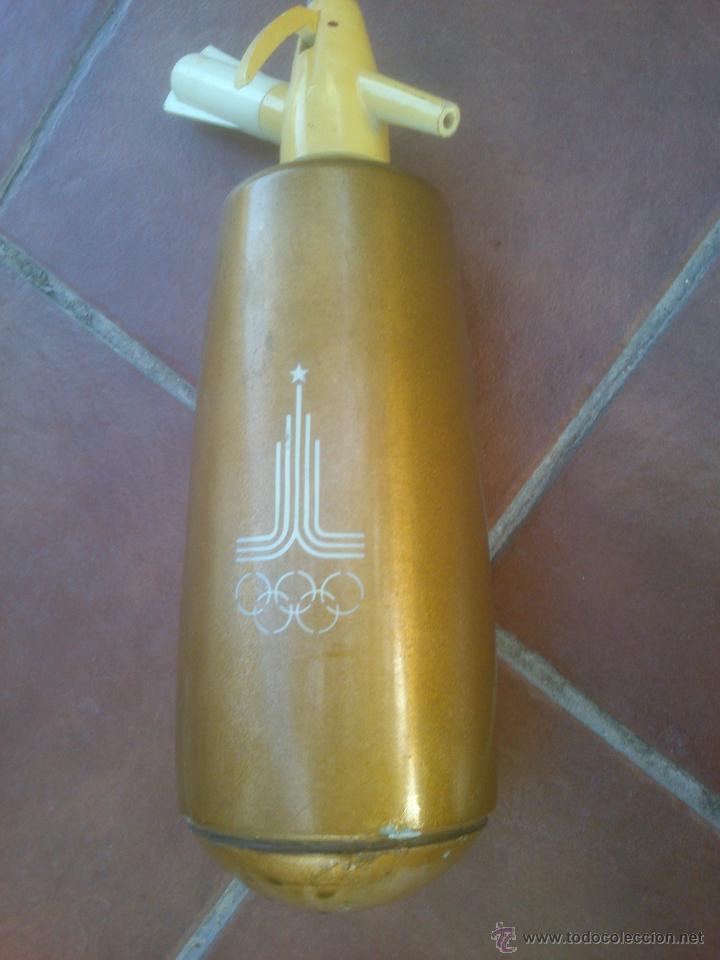 SIFON JUEGOS OLIMPICOS OLIMPIADAS MOSCU 1980 (Coleccionismo Deportivo - Merchandising y Mascotas - Otros deportes)
